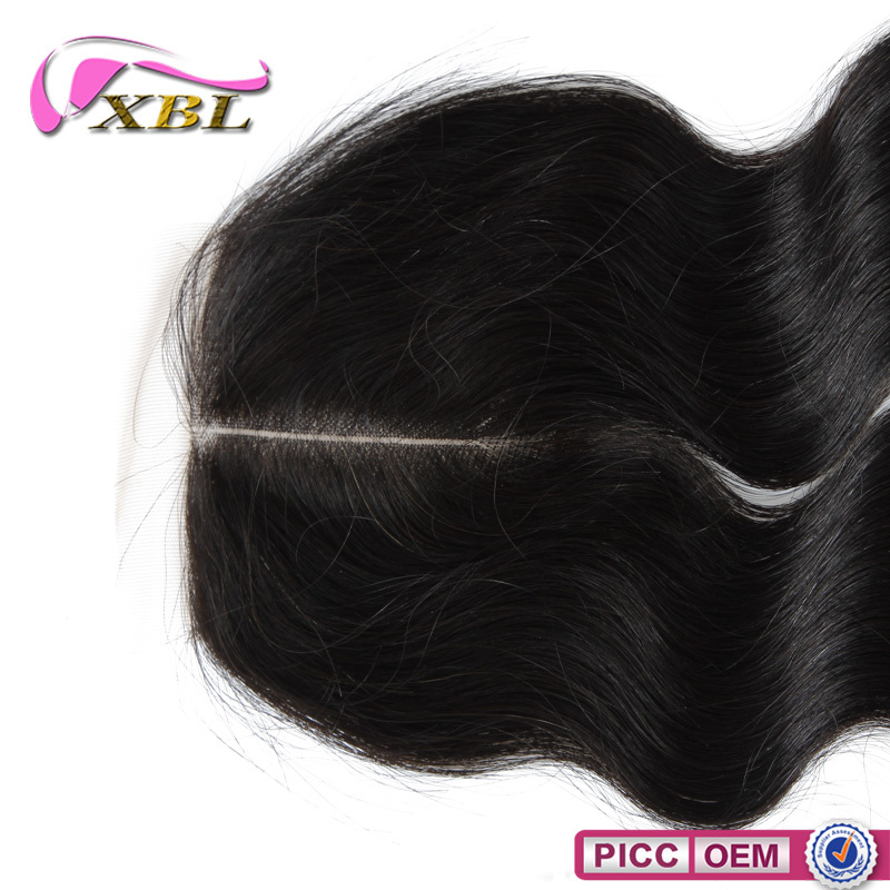 7A Virgin Human Hair Different Human Hair Texture Free Style Lace Closure