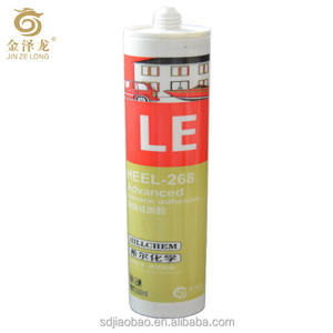 Mildew proof Advanced Acid glass silicone adhesive/sealant For Kitchenware sanitaryware door&window glass marble aluminium plate