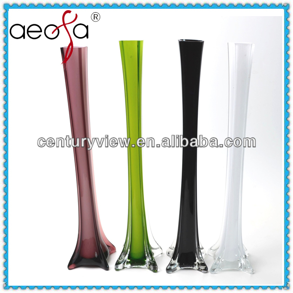 Hot Selling Effiel Colored Different Types Glass Vase Buy