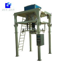 Gravity feeding type and plastic bag quantitative packing scales
