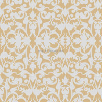 Printed panel curtain fabric Barok beige