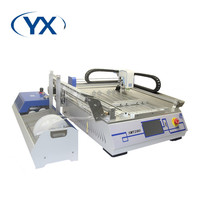 High-precision And Fast Speed SMT Production Line Manual Pick and Place Machine SMT280 With 28 Feeders+2 Heads