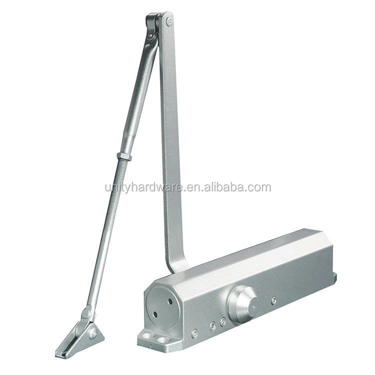UNITY DC4025 Door Closer Commercial Automatic Heavy Duty Aluminium Door Closer