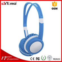 OEM Colorful 85 dB kids headphones with 30mm speaker and mic