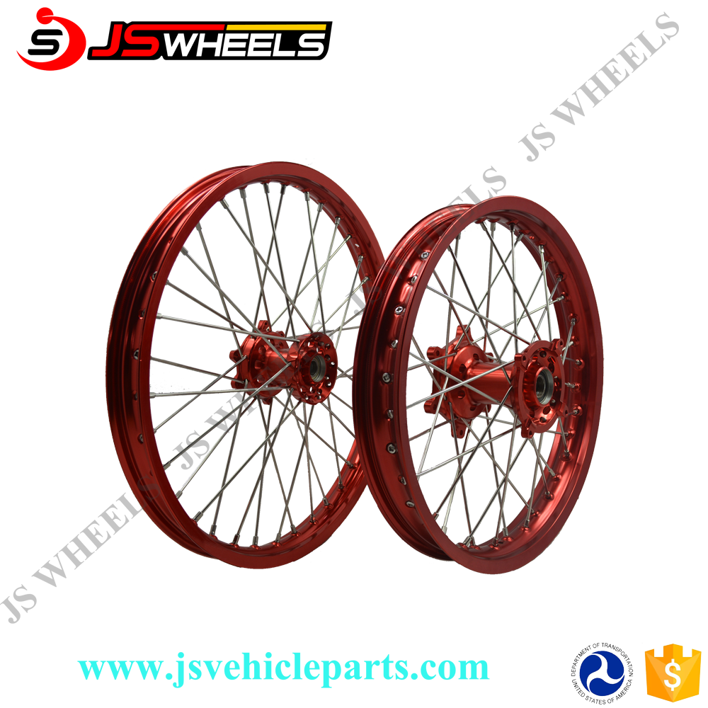 CRF 450 Motocross Racing Motorcycle Wheel With Sprocket Kit