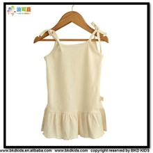 BKD summer bamboo baby tank clothes