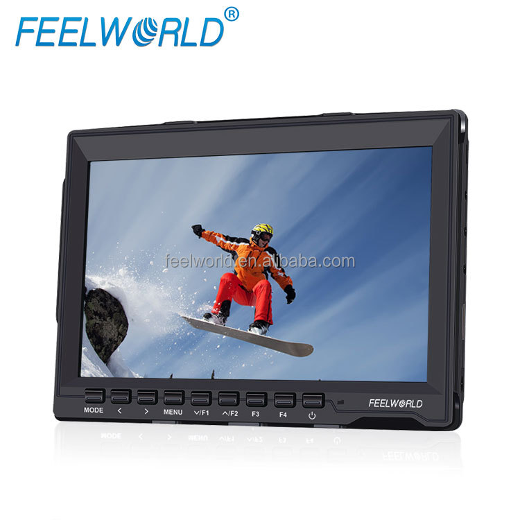 "7"" ultra slim 17mm peaking filter HD <strong>1080p</strong> IPS screen lcd camera monitor hdmi"