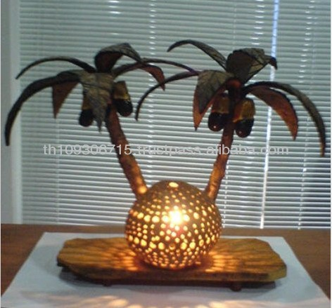 High Quality Coconut Tree Designed Table Lamp for Sale