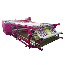 Wholesale high-tech t-shirt transfer printing roller sublimation heat press machine for sale