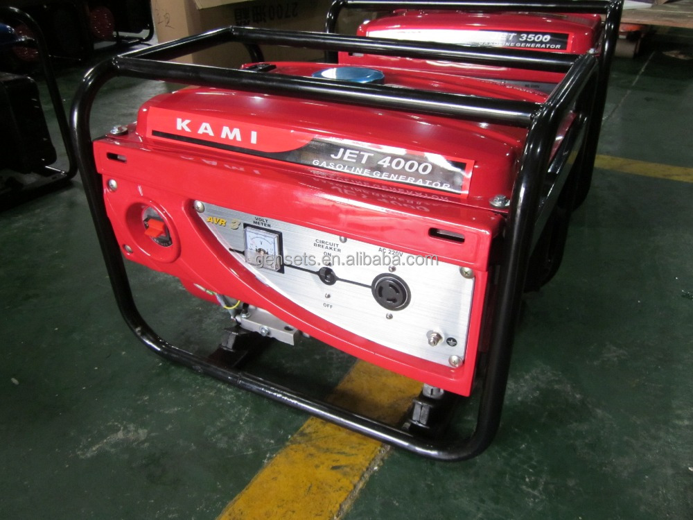Honda engine Gx270 gasoline genset with generator 3.5kw