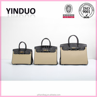 No Logo Famous Brand Bags Women Handbags Genuine Leather