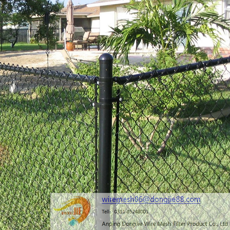 Hot dipped galvanized farm fencing chain link fence cheap