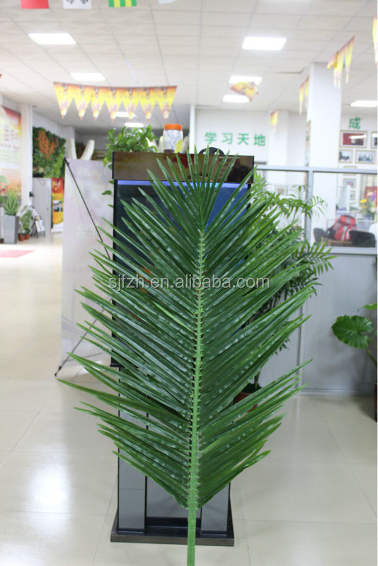 2015 Good quality artificial coconut tree leaf,artificial coconut tree, Artificial tree branch