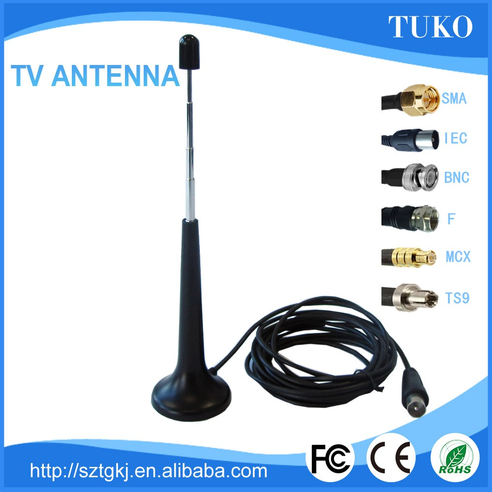 Hd broadcast box paper thin digital hdtv indoor antenna