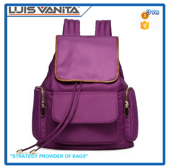 Fashion Elegant Fuchsia Latest School Bags for Girls