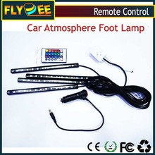 Sound Activated Car lighting interior LED foot atmosphere Ambient Floor light