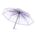 amazon hot selling cherry blossom transparent clear rain umbrella