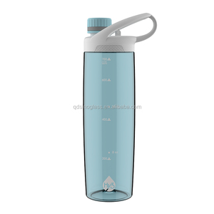 2018 Hy3 brand flare handle design 720ml large capacity plastic sports water bottle