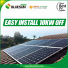 Hawaii 120V 10KW off grid solar system with battery bank for home