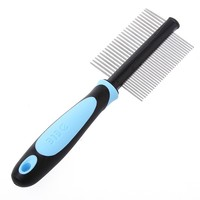 Both Side Of Comb For Dog Grooming 2015 Comb And Brush For Pet Shedding Slicker Tool Pet Product For Dog Hair Pet Dog Comb