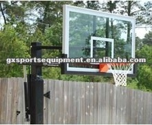 SGS standard tempered glass basketball backboard for australia and usa