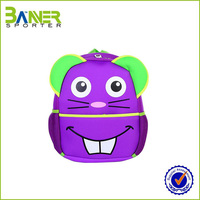 Good quality custom made neoprene kids school bag,school backpack