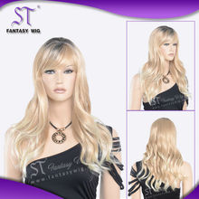 Wholesale lady of synthetic fibre wig