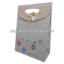 gift bags brown recycled paper without handles