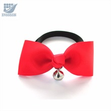 Cute Adjustable Dog Cat Pet Bow Tie With Bell Puppy Kitten Necktie Collar for Small Dogs Cats Accessories