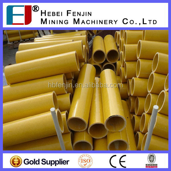 High Strength Colorful Fiberglass Reinforced Plastic Round Tube/GRP Pipe