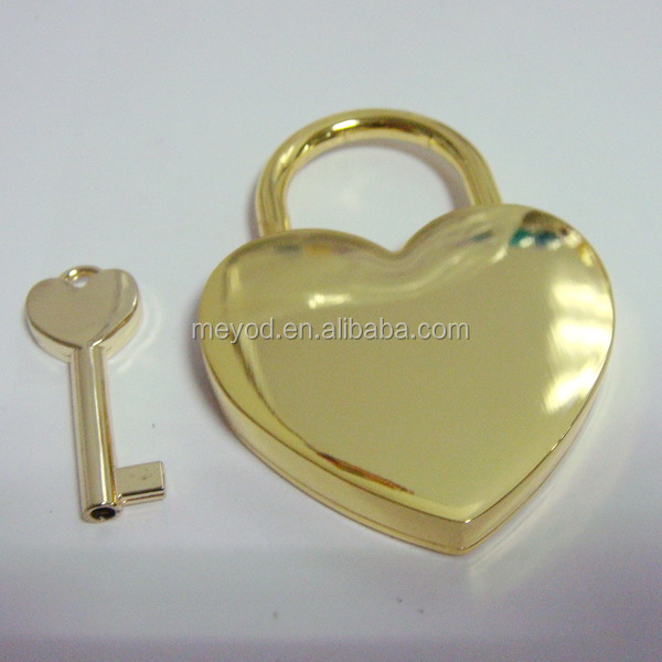 45MM zinc alloy heart shape lock