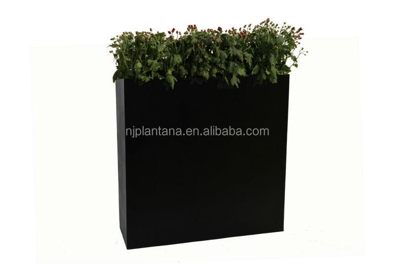 Grande taille des pots de fleurs en plastique rectangulaire planteur made de fiber de verre pots - Pot de fleur grande taille ...