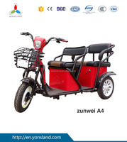 Three Wheel Electric Tricycle for passager Seat