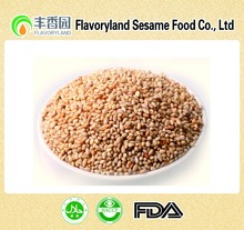 Fired sesame seeds