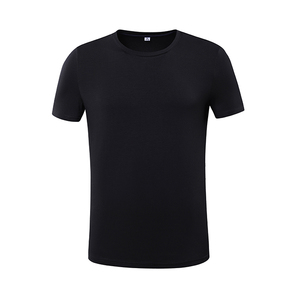 Factory custom round neck cotton t shirt men
