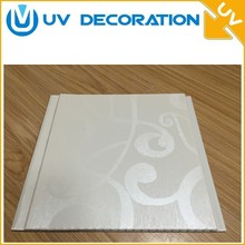 2018 High quality solide pvc t&g plastic ceiling panels plastic bathroom wall tile panel faux leather wall panels