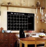 Home Office Factory supply self adhesive chalkboard wall sticker room decor