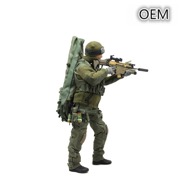 Soft PVC Soldier Figure Ranker Action Figure For Collection
