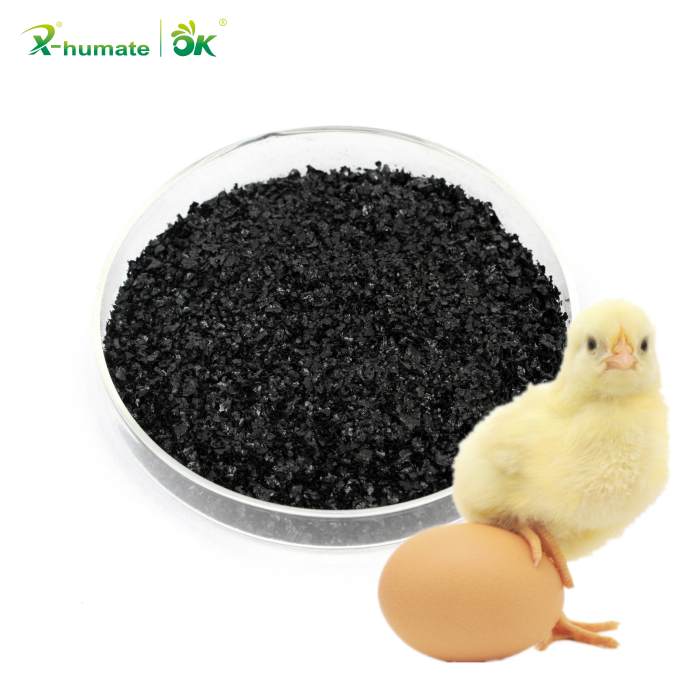 85% Sodium Humate Feed Grade / Sodium Humic Acid Feed Additive Food Grade Humic Acid