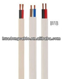 Flat ribbon cable and multi-wire planar cable for drives