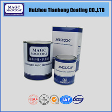 High Solid Metallic Crystal Coating Paint For Cars Repair