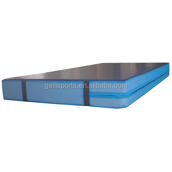 Tumbling air track mat for gymnastics