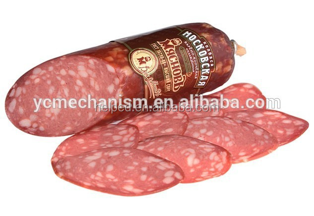 automatic production line for meat salami/sausage production line