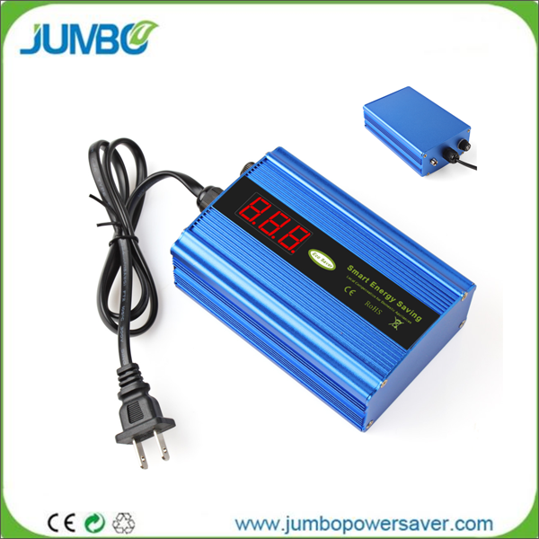 Jumbo LCD screen US EU plug power saving devices electrical electricity energy saver