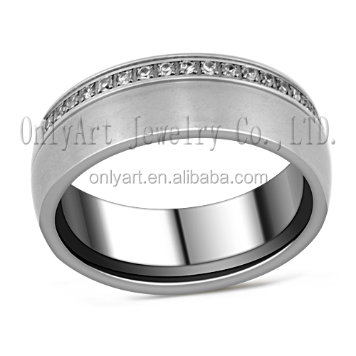 Indian style luxury jewelry sets exquisite ring design 316L stainless steel ring