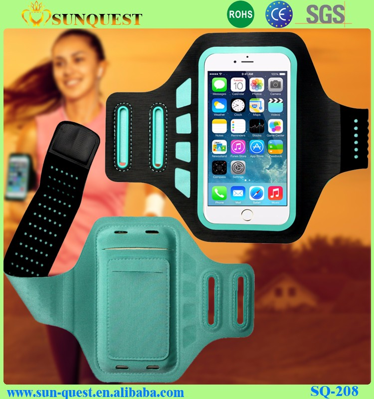 Waterproof Reflective armband Sports Running Armband For Iphone 5 6s