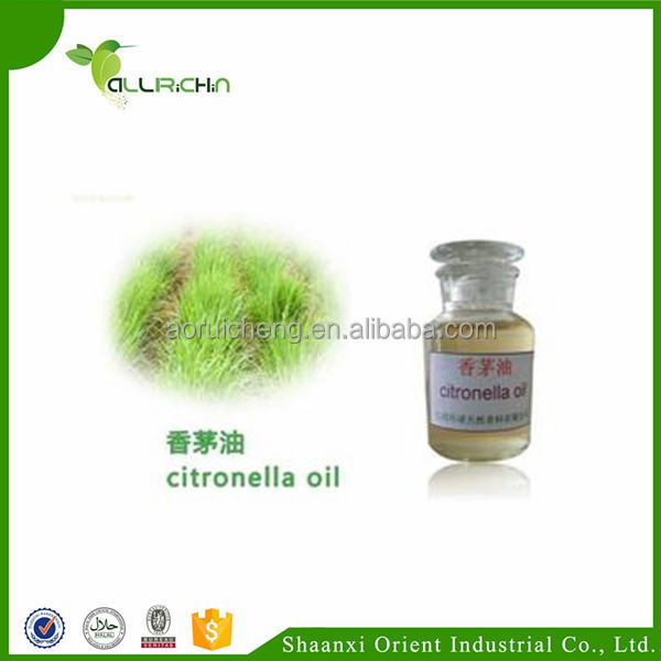 Private Label Available Pure Citronella Essential Oil For Insecticide