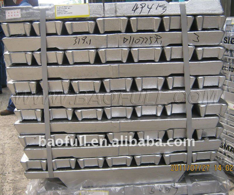 long term supply Al Alloy Ingot AC2A