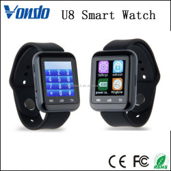 Vondo U8 Bluetooth Phone Call Smart Watch, 2016 Cheap Smart Watch Mobile Phone gps
