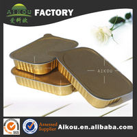 Canned tin aluminum foil food container with airtight foil lids